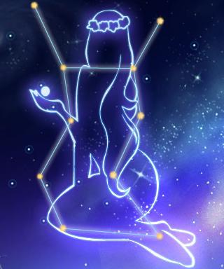 дева знак зодиака изображение